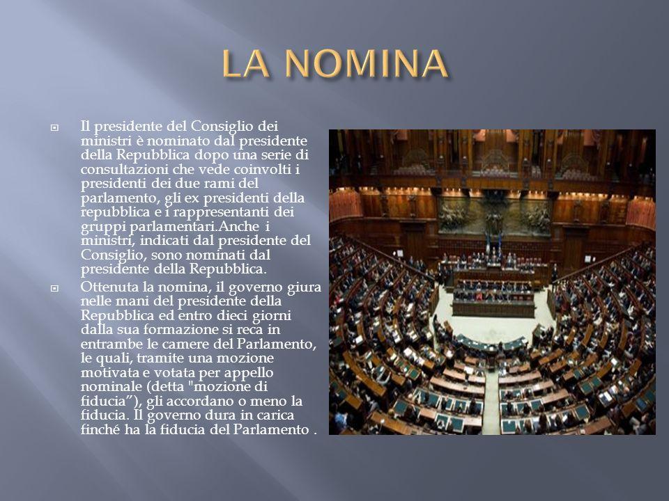 Governo della repubblica italiana ppt scaricare for Formazione parlamento