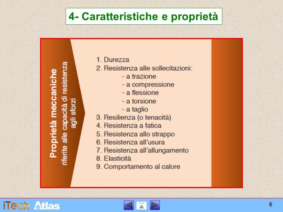 4- Caratteristiche e proprietà