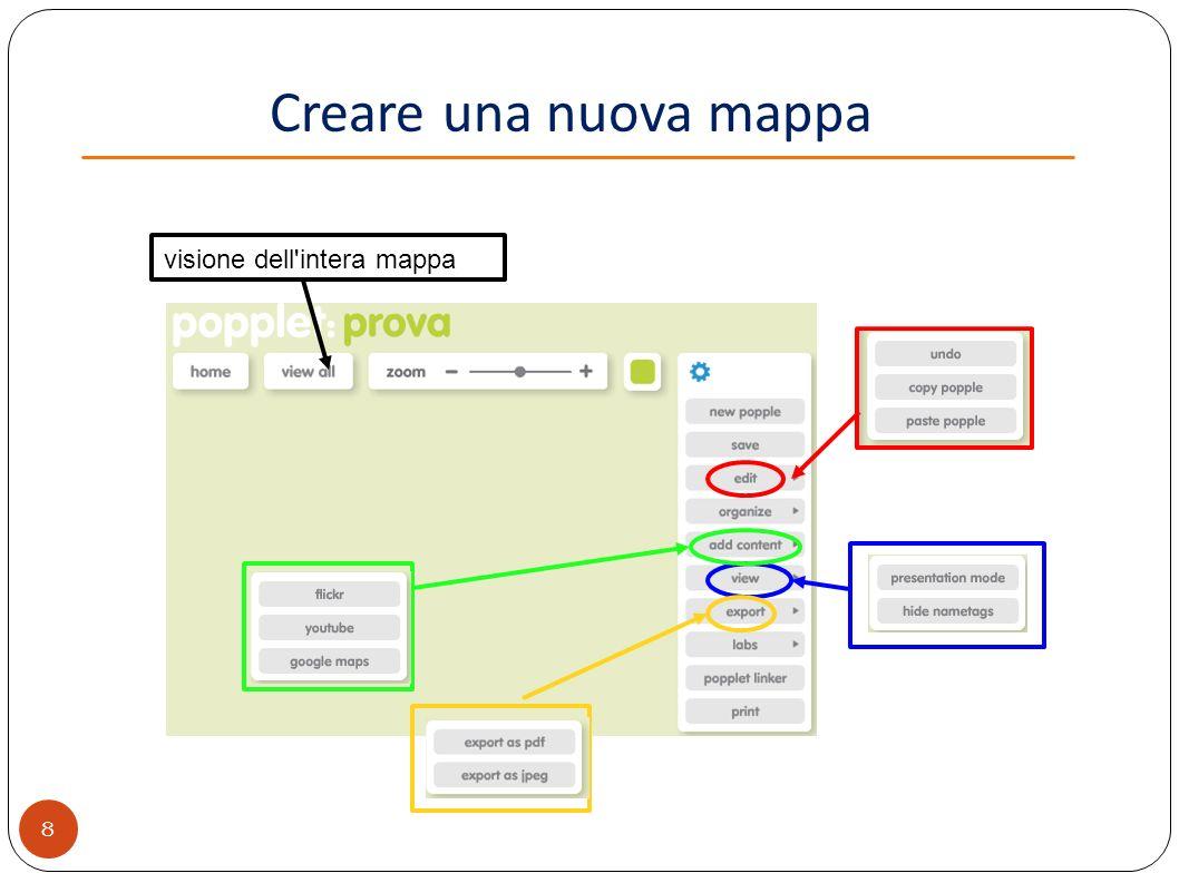Popplet mappe concettuali interattive ppt video online for Fare una pianta della casa