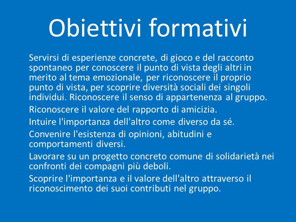 Obiettivi formativi