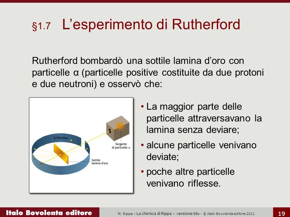 §1.7 L'esperimento di Rutherford