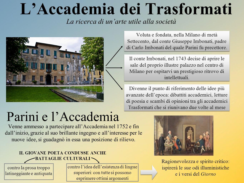 L'Accademia dei Trasformati