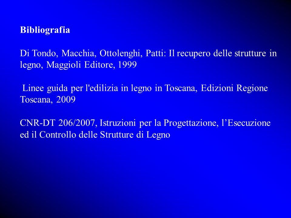 Bibliografia Di Tondo, Macchia, Ottolenghi, Patti: Il recupero delle strutture in legno, Maggioli Editore, 1999.