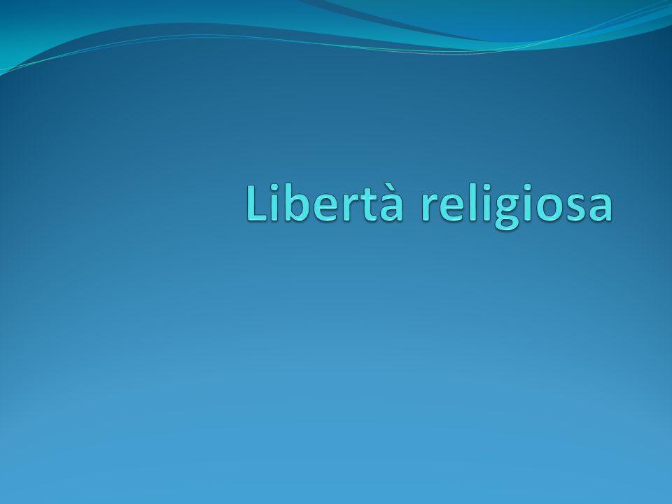 Libertà religiosa