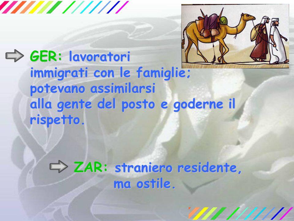 ZAR: straniero residente,