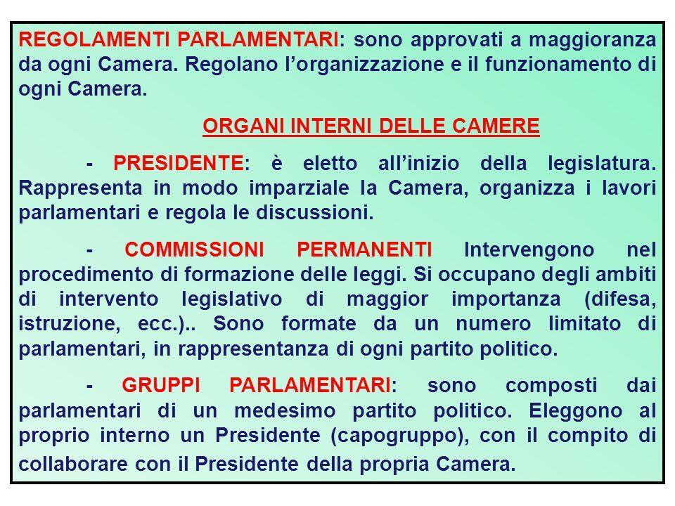 Il parlamento ppt scaricare for Quante sono le camere del parlamento italiano