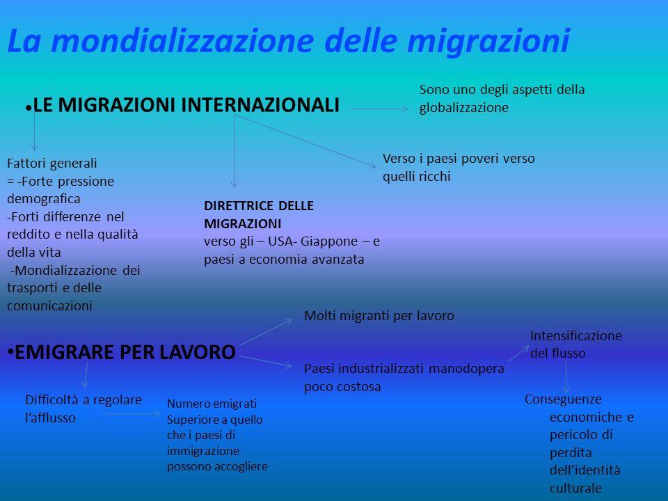 La mondializzazione delle migrazioni