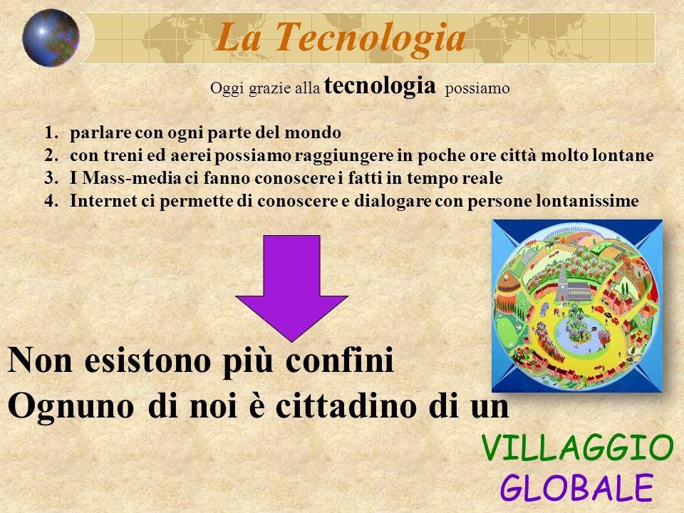 Oggi grazie alla tecnologia possiamo