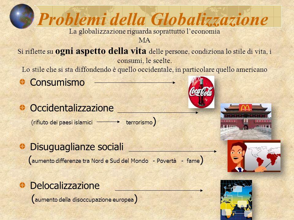 Problemi della Globalizzazione