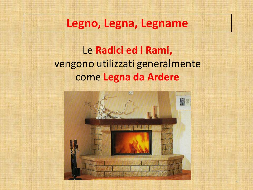 Legno, Legna, Legname Le Radici ed i Rami, vengono utilizzati generalmente come Legna da Ardere