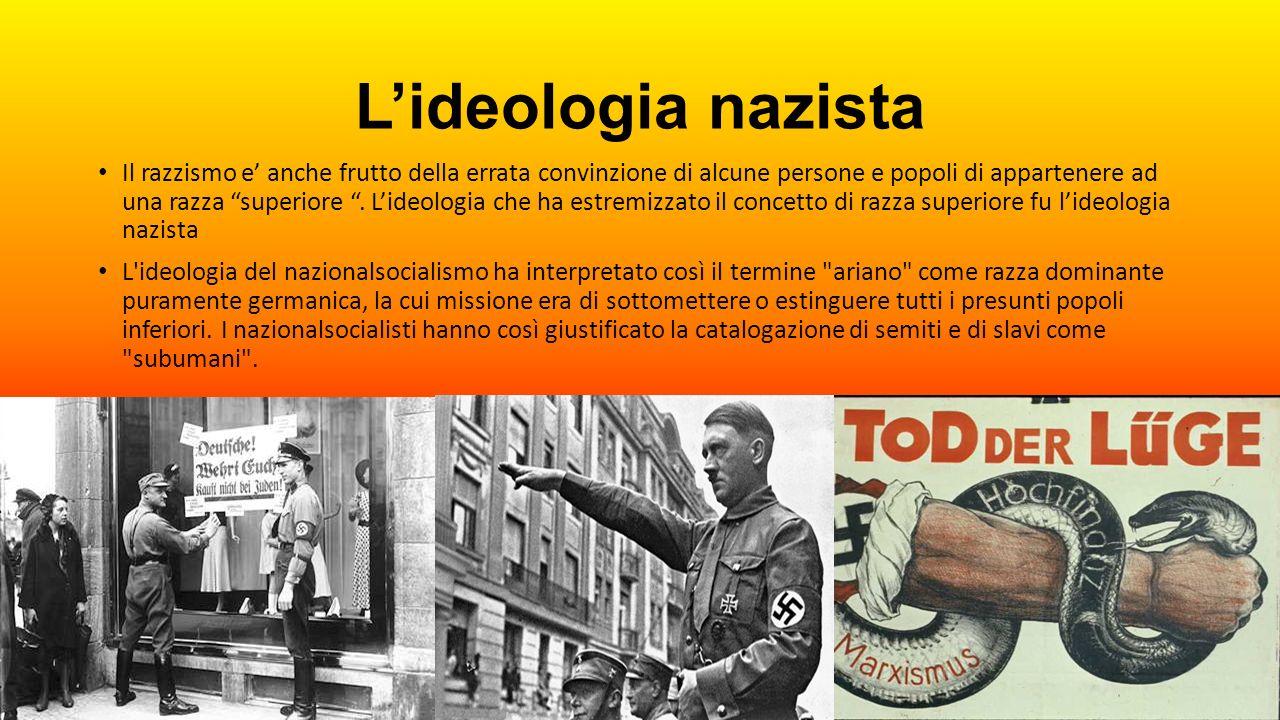 L'ideologia nazista