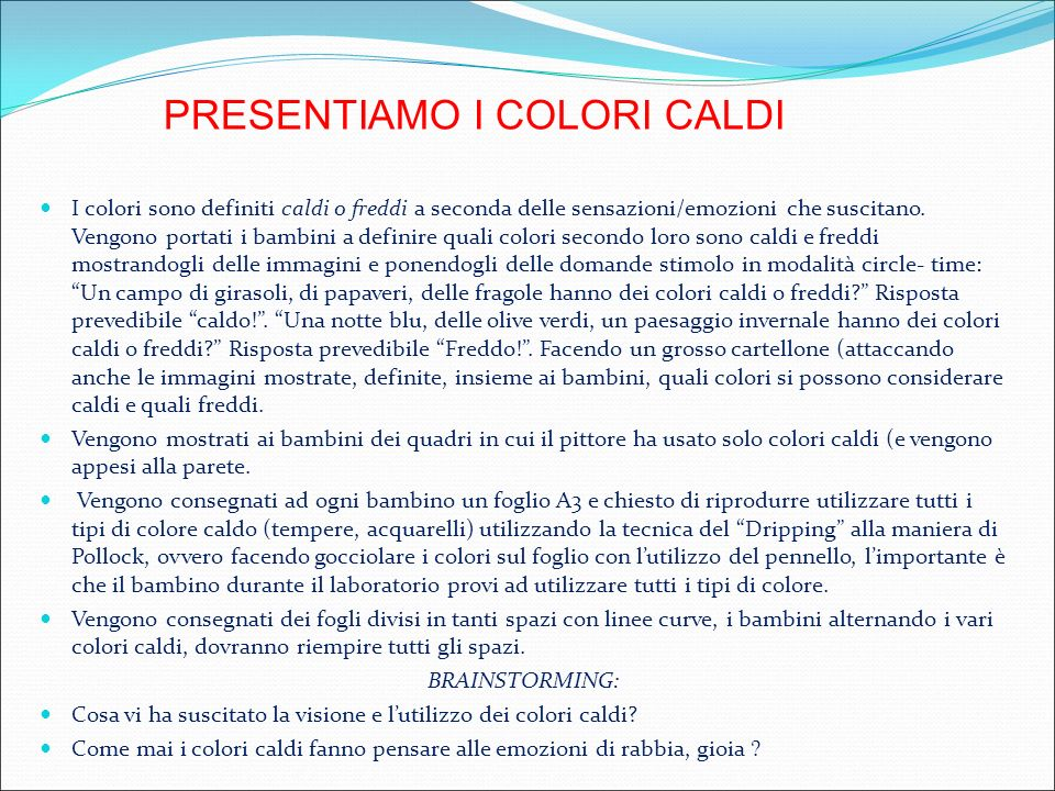 Top I COLORI CALDI E FREDDI. - ppt video online scaricare PC44