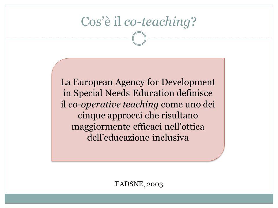 Cos'è il co-teaching