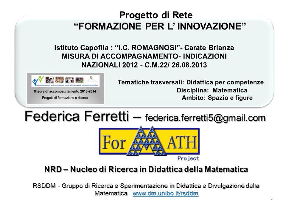 NRD – Nucleo di Ricerca in Didattica della Matematica