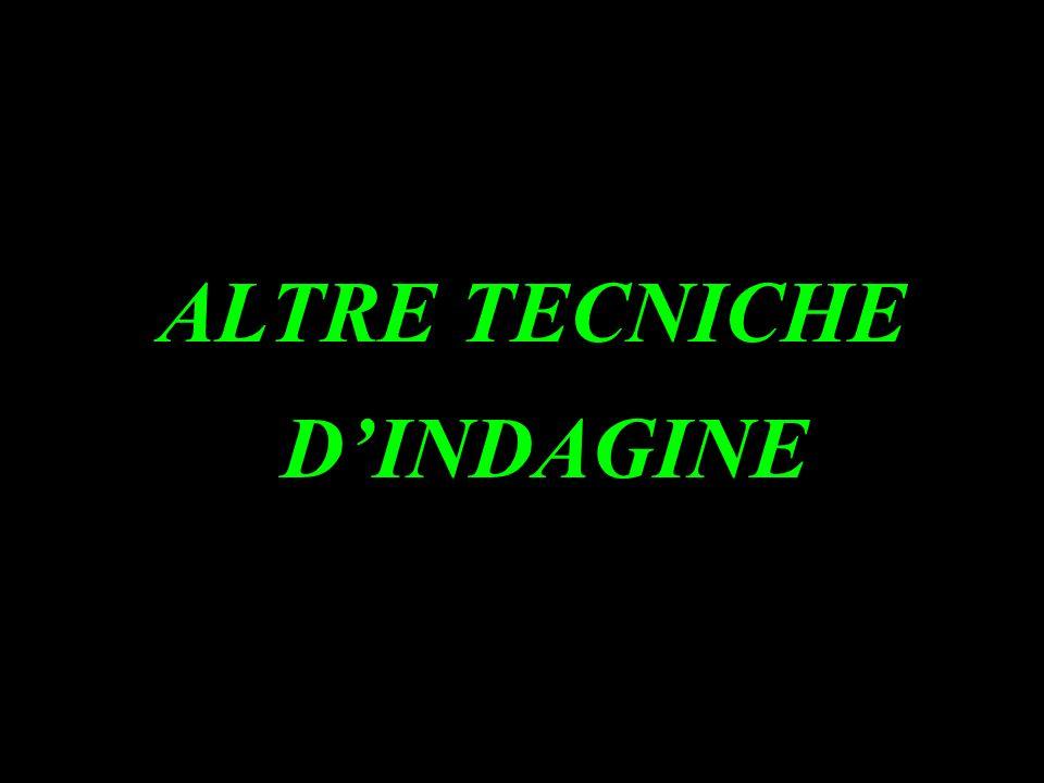 ALTRE TECNICHE D'INDAGINE