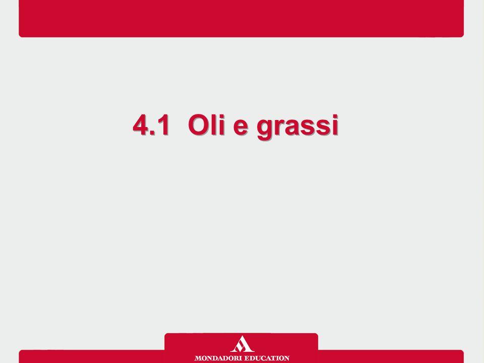 4.1 Oli e grassi