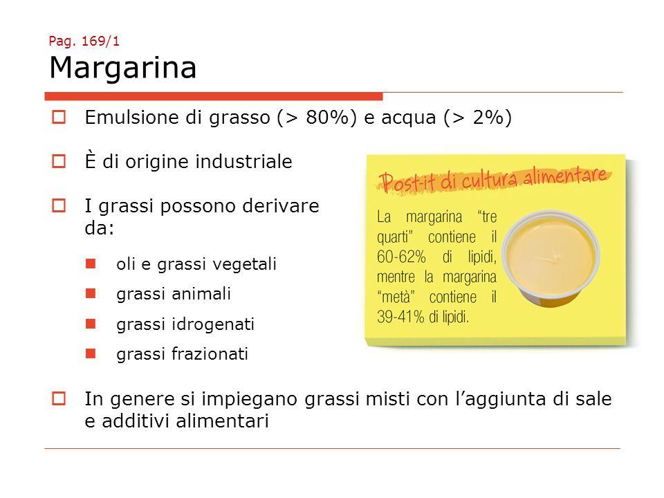 Emulsione di grasso (> 80%) e acqua (> 2%)