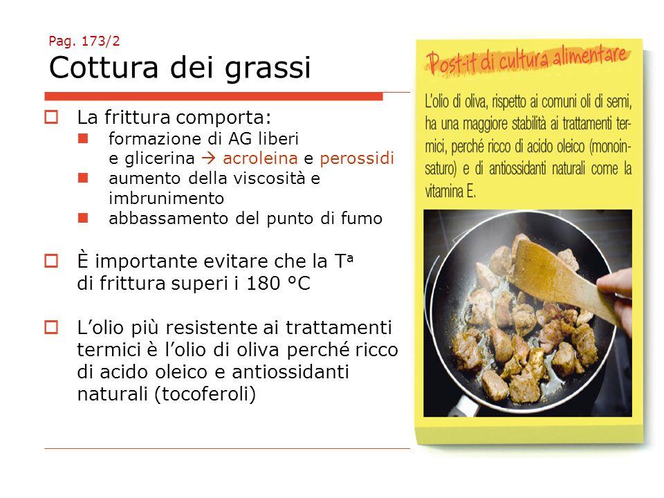 Pag. 173/2 Cottura dei grassi