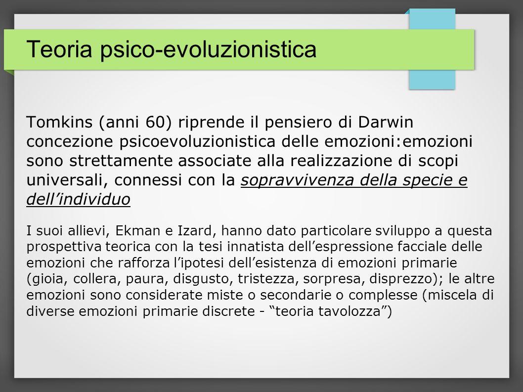 Teoria psico-evoluzionistica