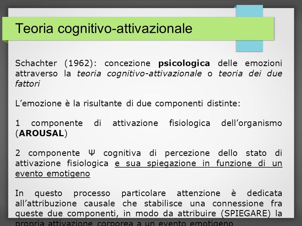 Teoria cognitivo-attivazionale