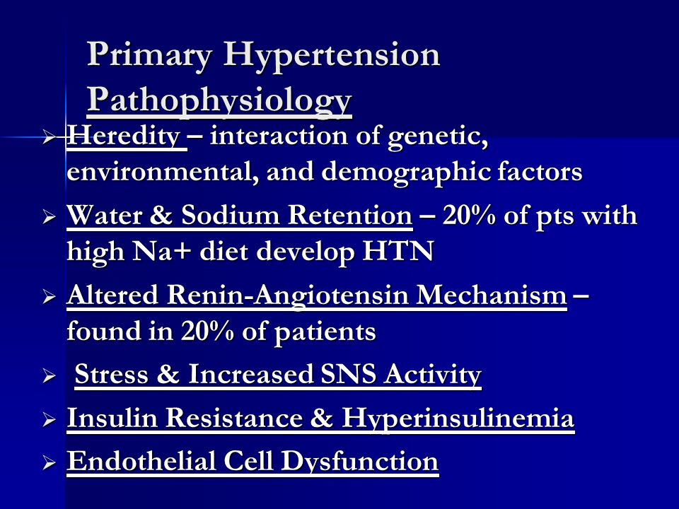Pulmonary Hypertension Diet