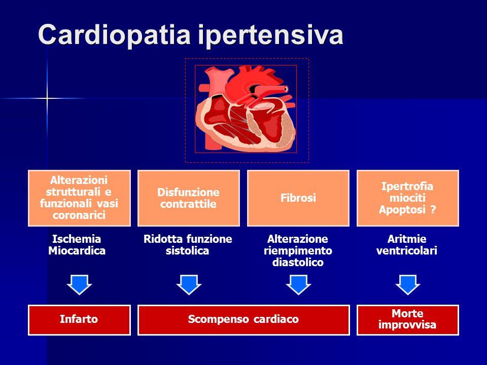 Ipertensione e danno d organo ppt scaricare for Vasi coronarici