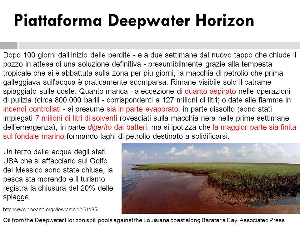 Piattaforma Deepwater Horizon