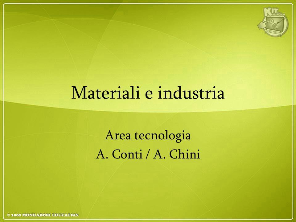Area tecnologia A. Conti / A. Chini
