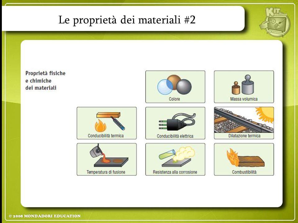Le proprietà dei materiali #2