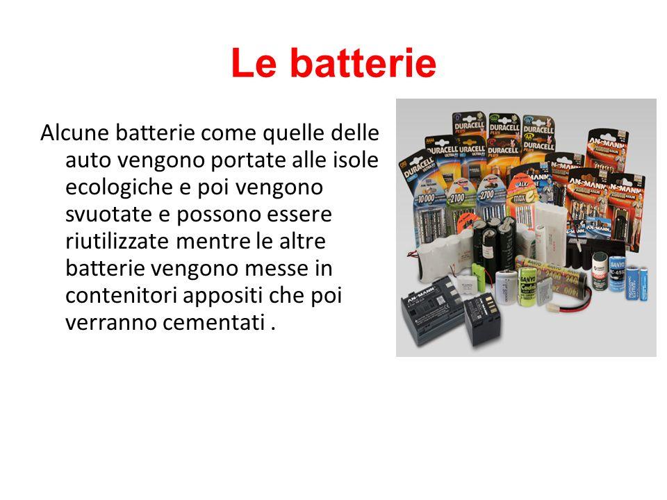 Le batterie