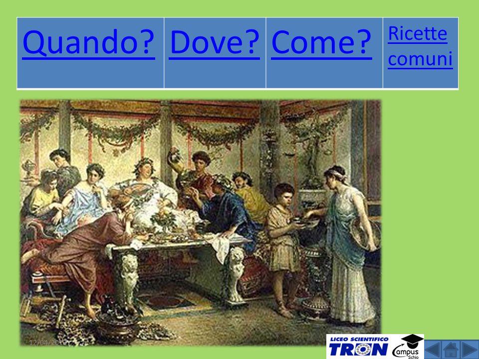 L alimentazione nell antica roma ppt scaricare for Ricette roma antica