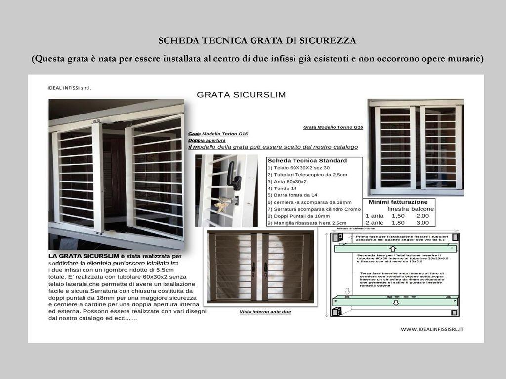 De santis serramenti s r l costruttori di infissi dal ppt for Torterolo porte blindate scheda tecnica