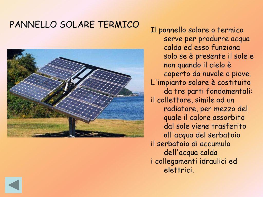 Pannello Solare Termico Non Funziona : Bioarchitettura equità sociale integrità ecologica ppt