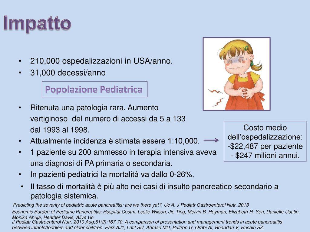 Pancreatite acuta protocollo diagnostico e terapeutico for Costo medio dell aggiunta della suite