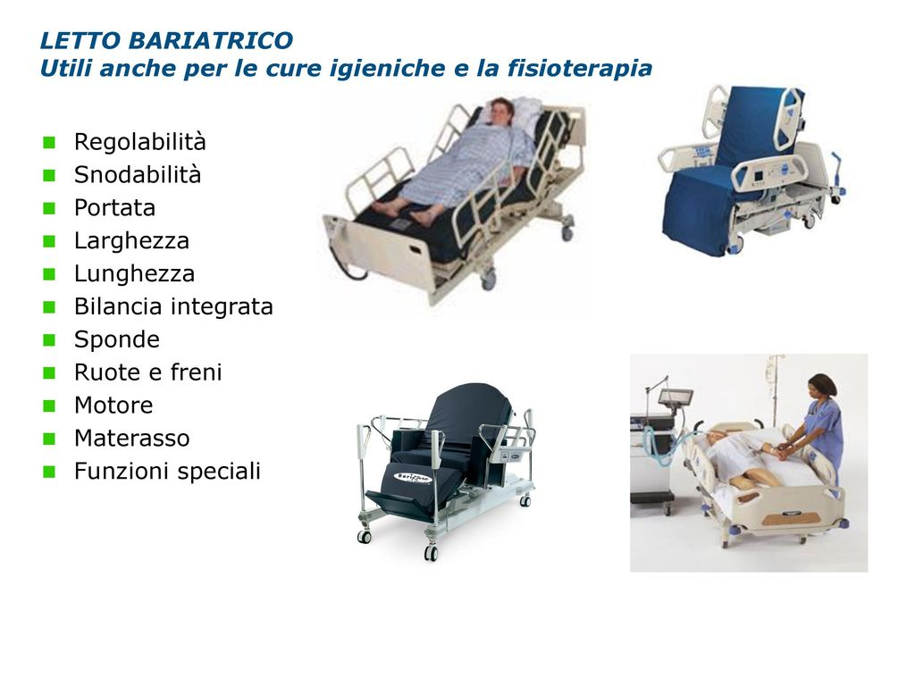 La gestione del paziente grande obeso in reparto riabilitativo ppt scaricare - Toro e bilancia a letto ...