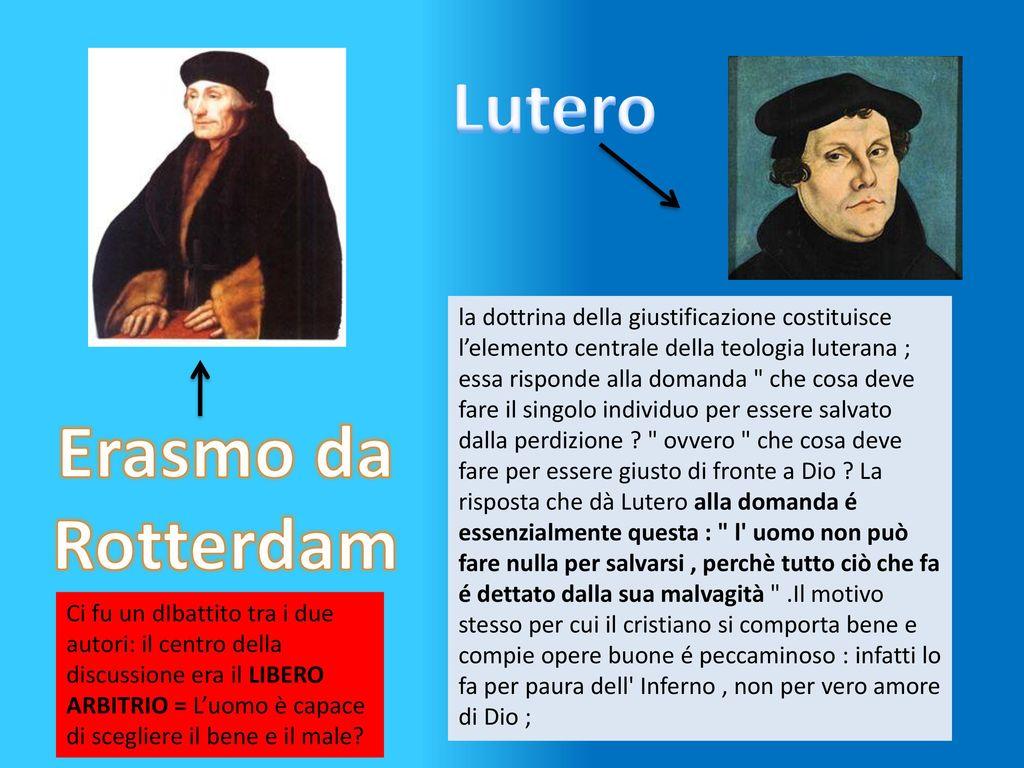 Differenze tra protestanti luterani e cattolici ppt for Cosa fa l assistente alla poltrona