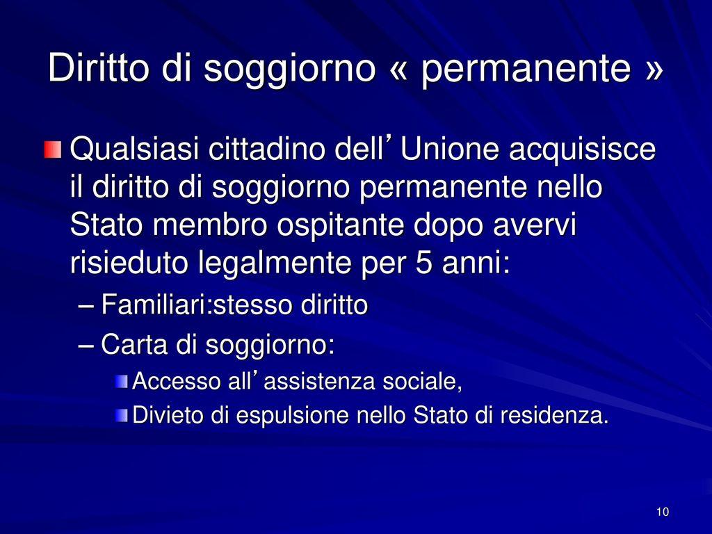 Beautiful Carta Di Soggiorno Permanente Ideas - dairiakymber.com ...