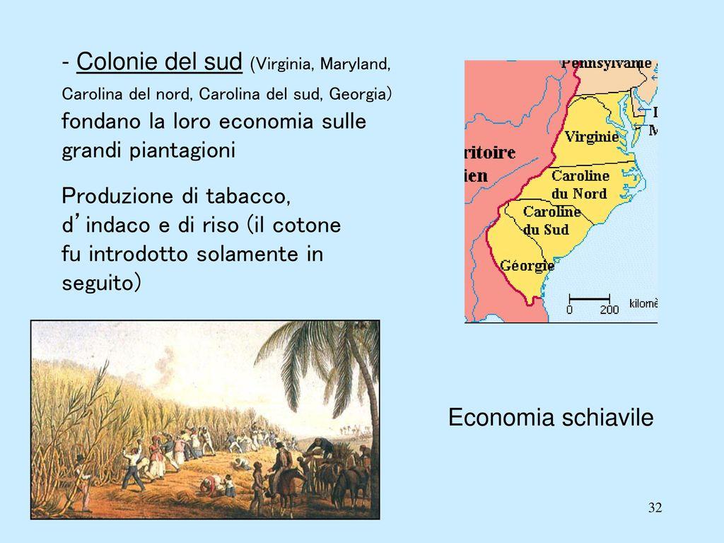 La nascita degli stati uniti d america ppt video online for Cabina nelle montagne della carolina del nord
