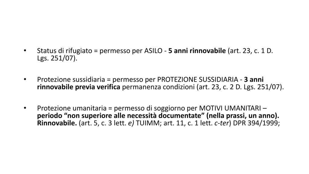 Emejing Carta Di Soggiorno 5 Anni Contemporary - Home Design ...