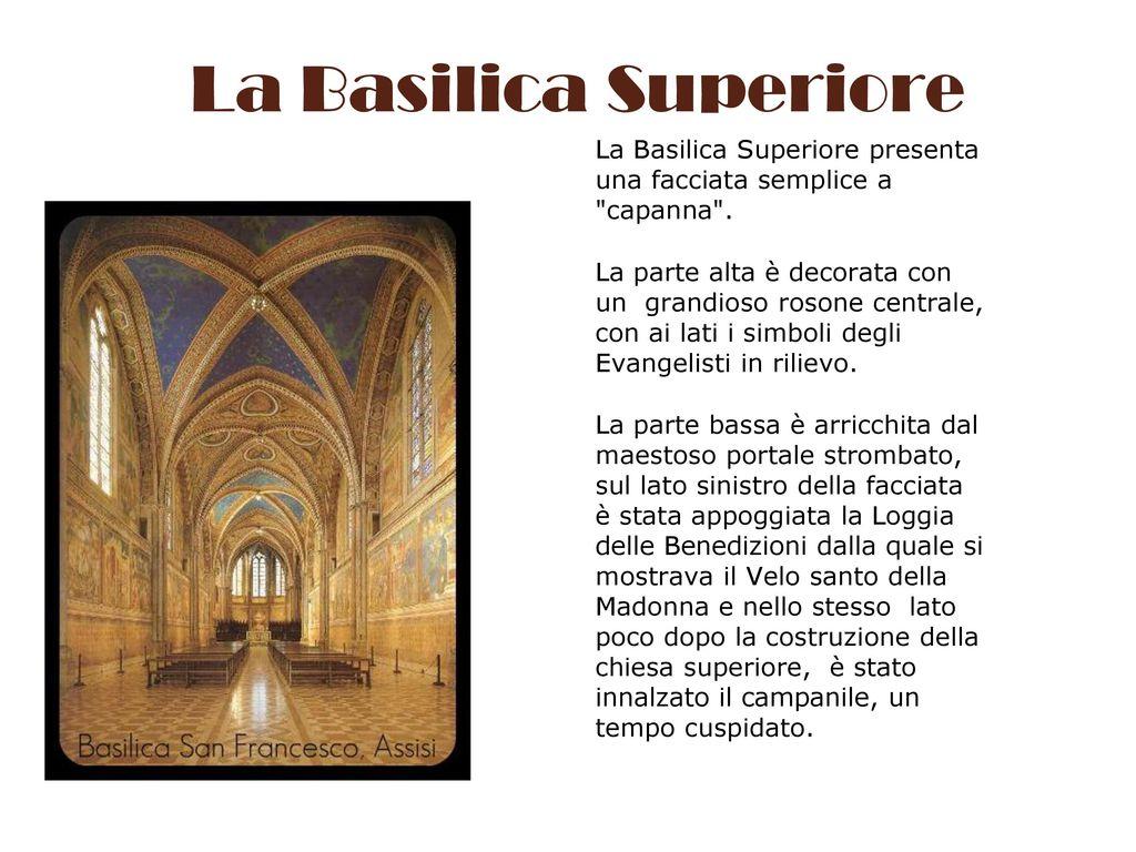 Assisi la basilica di san francesco ppt scaricare - Finestra che si apre sul lato superiore ...
