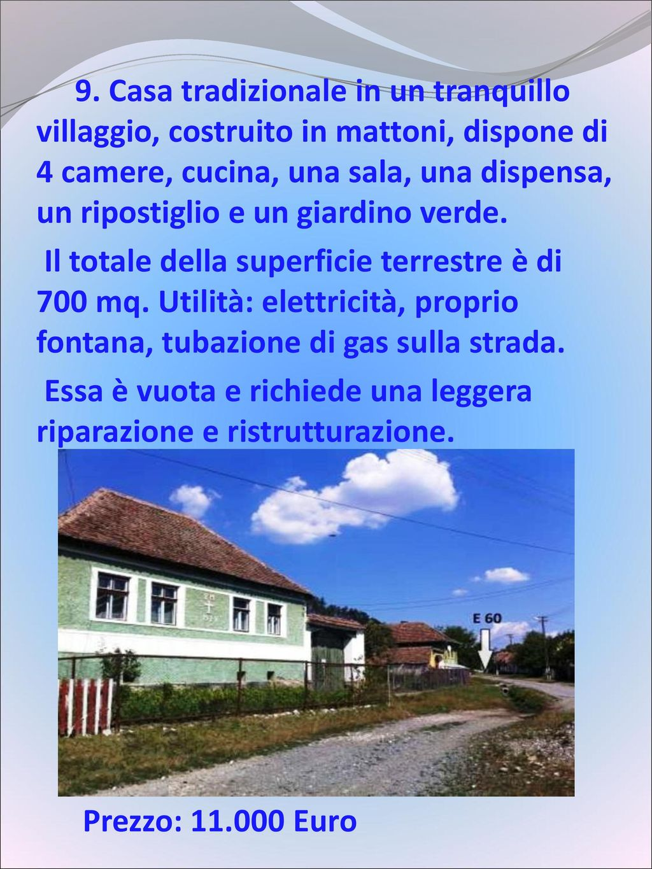 Acquista ora la vostra casa tradizionale in transilvania for La casa tradizionale progetta una storia
