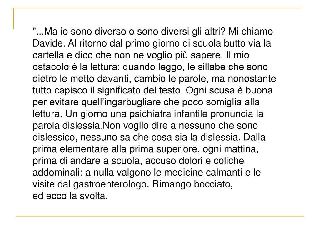 Salerno pediatria 25 26 11 2016 stelle sulla terra ppt - Testo prima o poi gemelli diversi ...