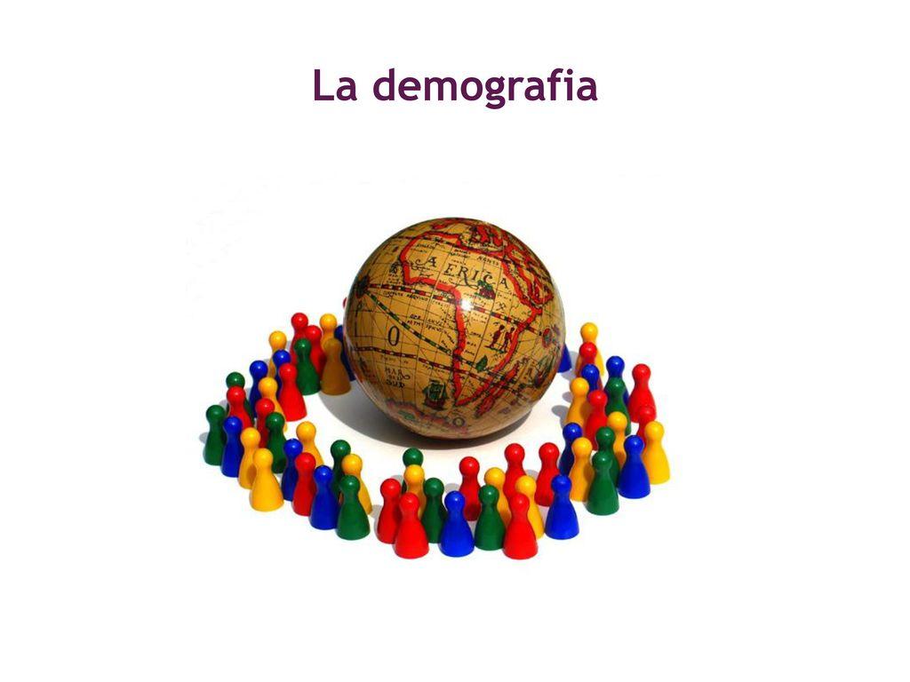 La demografia