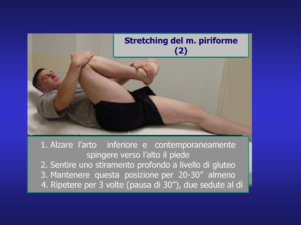 Stretching del m. piriforme