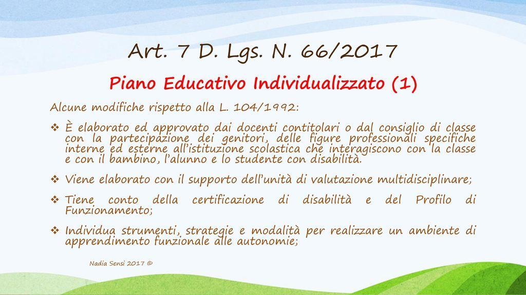 Piano Educativo Individualizzato (1)