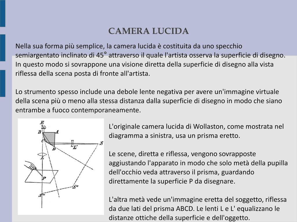 Camera obscura camera ottica ppt video online scaricare - Specchio che si rompe da solo ...