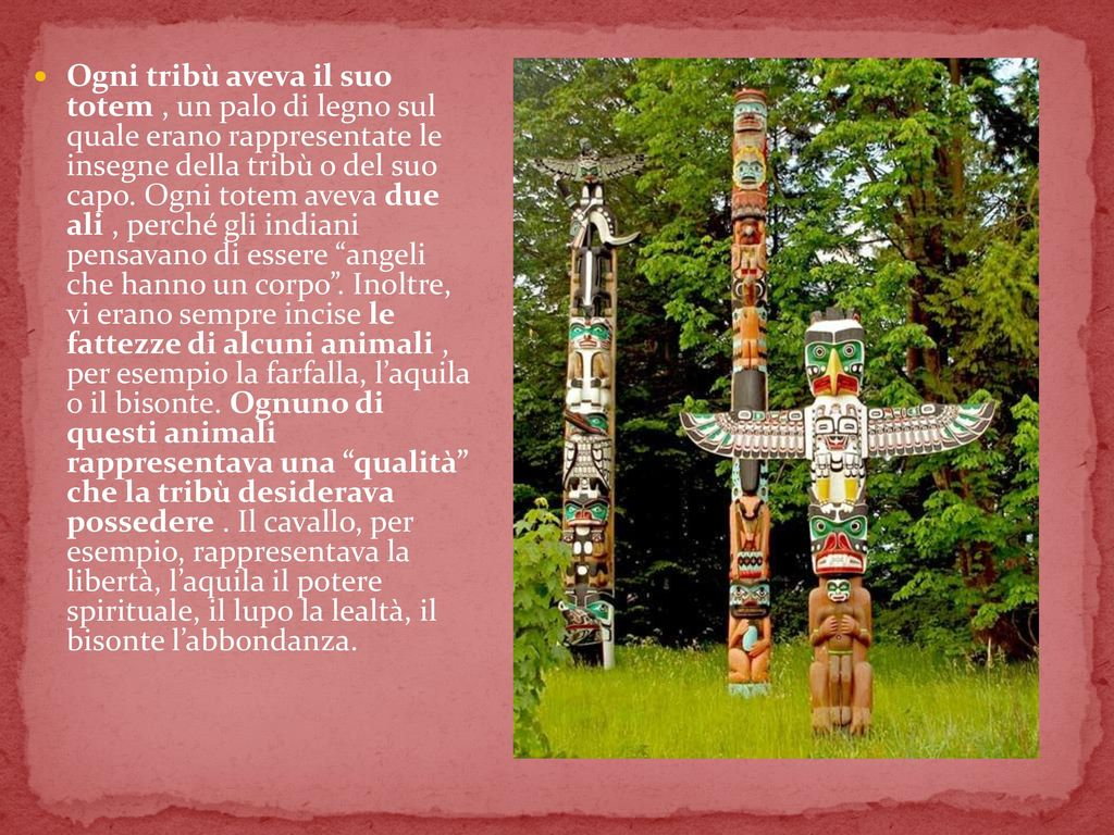 I nativi americani chi sono da dove vengono e quali - Totem palo modelli per bambini ...