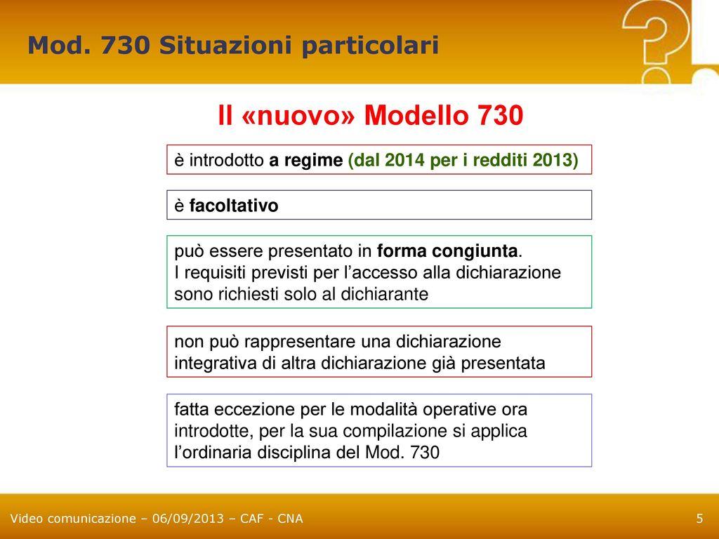 Modulo 730 with modulo 730 finest modifiche al modello e - Documenti per il 730 ...