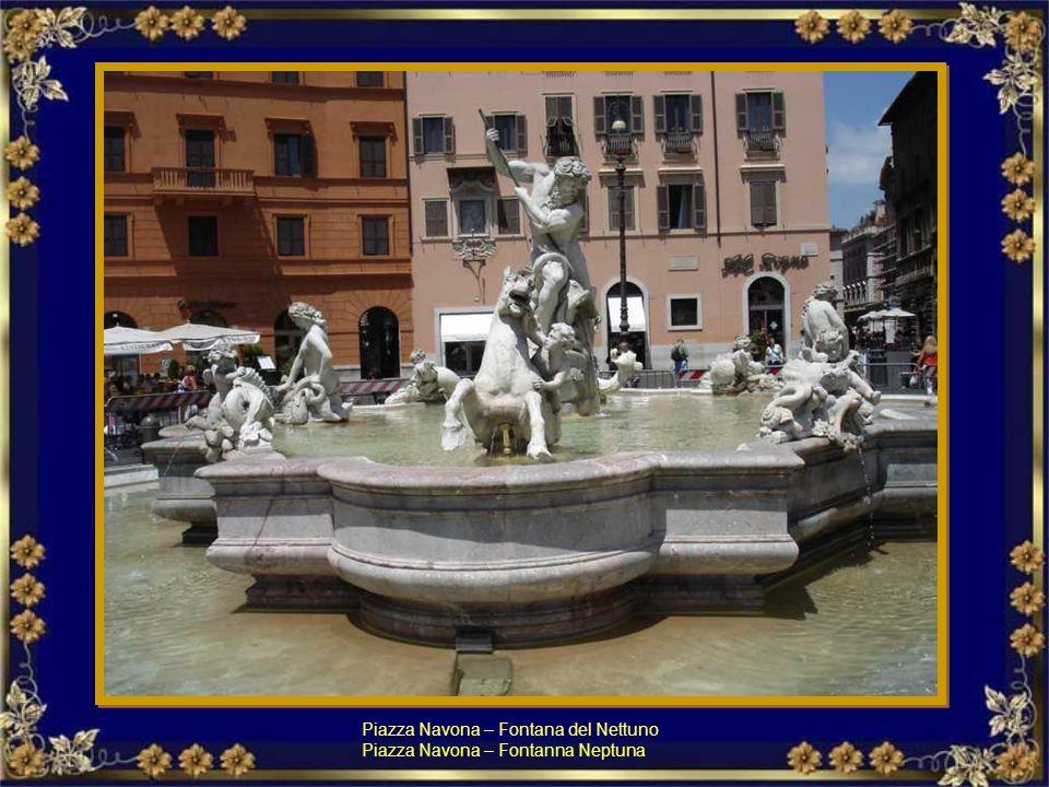 Piazza Navona – Fontana del Nettuno
