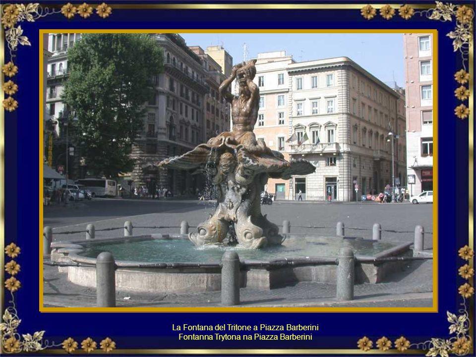 La Fontana del Tritone a Piazza Barberini